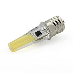 Dimmable E17 Mini Silica Gel Led Bulb Sapphire Cob AC 110V 120V 350Lm Warm /Cold White (1 Piece)