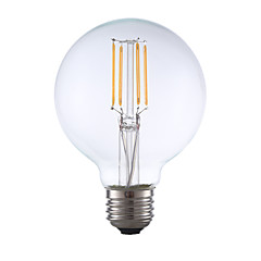 3.5W E26 LED Filament Bulbs G25 4 COB 350 lm Warm White Dimmable AC 110-130 V 1 pcs