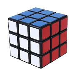 Shengshou® Tasainen nopeus Cube 3*3*3 Nopeus Rubikin kuutio / Opetuslelut Musta Fade / Ivory Smooth Tarra / Anti-pop / säädettävä jousi