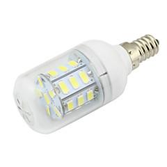 4W Clear PVC Cover E14 LED Corn Light 27 SMD 5730 280Lm AC/DC 12-24V or AC 110-220V Warm /Cool White (1 Piece)