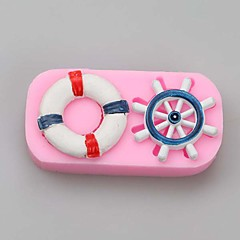 Rudder Fondant Cake Molds Chocolate Mould For The Kitchen Baking Silicone Sugar Decoration