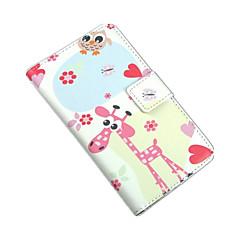 Mert Nokia tok Pénztárca / Kártyatartó / Állvánnyal Case Teljes védelem Case Rajzfilmfigura Kemény Műbőr Nokia Nokia Lumia 625