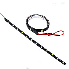 YouOKLight®  2Pcs 5W 12V 30cm LED DRL 100% Waterproof 5050 SMD Car Auto Decorative Flexible LED Strip Fog lamp