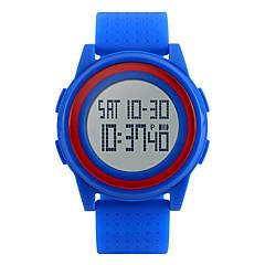Da uomo Orologio sportivo / Orologio alla moda DigitaleLED / Calendario / Cronografo / Resistente all'acqua / allarme / Cronometro /