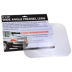 ziqiao grande angular de estacionamento lente Fresnel invertendo etiqueta útil vista ampliar lente Fresnel angleoptical