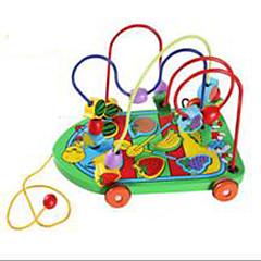 Odstresowywujący Zabawka edukacyjna Nowoczesne zabawki Zabawki Zabawne Okrągły Samochód Drewno Tęczowy Dla chłopców Dla dziewczynek