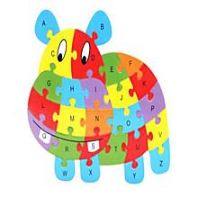 παζλ Ανακουφίζει από το στρες Εκπαιδευτικό παιχνίδι Παζλ Δομικά στοιχεία DIY παιχνίδια Άλογο 1 Ξύλο