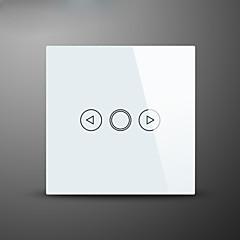 dimmer ışık anahtarı, ab standart, cam panel duvar dokunmatik anahtarı dokunma