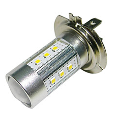 H7 15W 15x2323 SMD 1450lm 6500K White Light LED For Car forlygte (DC10 ~ 30V)
