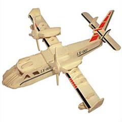 Puzzles Holzpuzzle Bausteine DIY Spielzeug Kämpfer 1 Holz Elfenbein Model & Building Toy