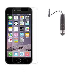anti-glare matte afwerking screen protector met stylus touch pen voor iPhone 6s / 6