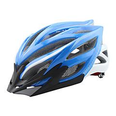 여성용 / 남성용 / 남여 공용 자전거 헬멧 23 통풍구 싸이클링 사이클링 / 산악 사이클링 / 도로 사이클링 / 레크리에이션 사이클링 원 사이즈 PC / EPS 옐로우 / 화이트 / 레드 / 블랙 / 블루