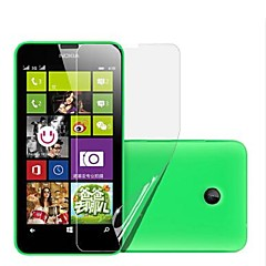 (6 stuks) high definition screen protector voor de Nokia Lumia 630/635