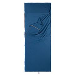 Saco de dormir Retangular Solteiro (L150 cm x C200 cm) -15-5 Algodão 400g 210X75 Equitação Campismo Viajar Caça ExteriorÁ Prova de