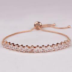 Dames Armbanden met ketting en sluiting Modieus Luxe Sieraden Zirkonia Kubieke Zirkonia Sieraden Voor Dagelijks