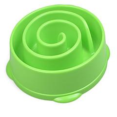 Gato Perro Cuencos y Botellas de Agua Mascotas Cuencos y Alimentación Portátil Plegable Verde Azul Rosa Silicona