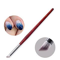 1PCS 광선 요법 네일 젤 그라데이션 yunran 그라데이션 브러시 펜