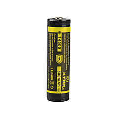 XTAR 14500 800mAh 3.7V 2.96Wh  Li-ion Rechargeable Battery
