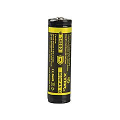 XTAR batteria 3.7v 2.96wh agli ioni di litio ricaricabile 14500 800mAh