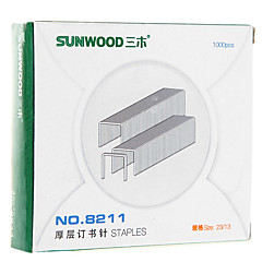 Sunwood®  8211 100 Pages Thick Layer Of Staples/Stitching Needle (23/13) for Thick Stitching Machine 8145 (1000Pcs/box)