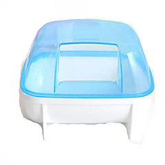 Rodents Hutches Plastic Blue