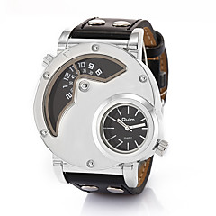 European And American Personality Large Dial Multi Time Zone Men's Sport Watch