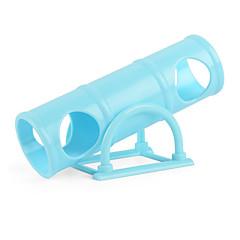 Gnavere Bur Plastik Blå Lyserød