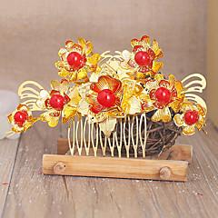 Lolita Accessoires Klassiek en Tradtioneel Lolita Hoofddeksels Geïnspireerd door vintage Gouden Lolita-accessoires Hoofddeksels Voor Dames
