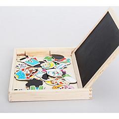 puzzle-uri Jucării Educaționale Blocuri de pereti DIY Jucarii 1 Lemn