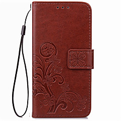 For Card Holder / Wallet Case Full Body Case Solid Color Soft PU Leather for Sony X Performance/Xperia X/XZ/X2/XR/XA