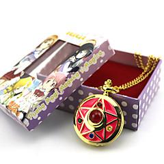 Ρολόι/Ρολόι χεριού Εμπνευσμένη από Sailor Moon Sailor Moon Anime Αξεσουάρ για Στολές Ηρώων Ρολόι/Ρολόι χεριού Χρυσό Κράμα Γυναικεία