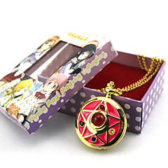 Zegar/zegarek Zainspirowany przez Sailor Moon Sailor Moon Anime Akcesoria do Cosplay Zegar/zegarek Złoty Slitina Damskie