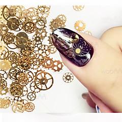 1set Nail Art-dekoration Strasspärlor makeup Kosmetisk Nail Art-design