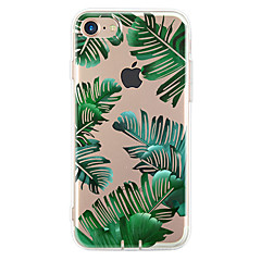 For Ultratyndt Mønster Etui Bagcover Etui Træ Blødt TPU for Apple iPhone 7 Plus iPhone 7 iPhone 6s Plus/6 Plus iPhone 6s/6