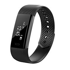 cardmisha id15 έξυπνο βραχιολάκι ξυπνητήρι μπάντα βήμα tracker βραχιόλι γυμναστήριο πάγκο γυμναστικής δόνησης για το iPhone Android