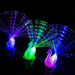 2 PC der Pfau geformte LED-Finger-Lampe, die Geschenke für Kinder