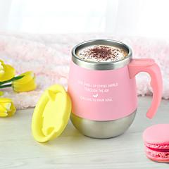 Noviteit Glazen en bekers, 450 ml warmhoudvak Warmte-isolerende RVS Polypropyleen Thee Naakt vacuum Cup