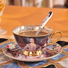 Çay Fincanları / Su Şişeleri / Kahve Kupaları / Çaylar ve İçecekler 1 PC Seramik, -  Yüksek kalite