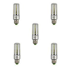 9W E27 LED-kolbepærer T 42 SMD 5736 1080 lm Varm hvid Kold hvid Dekorativ V 5 stk.