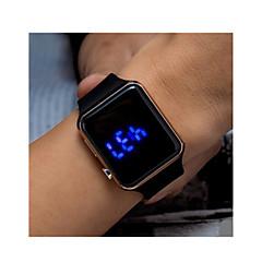 Dames Heren Man Sporthorloge Digitaal horloge Digitaal / Plastic Band Vintage Zwart