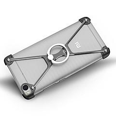 Voor Schokbestendig Ringhouder hoesje Bumper hoesje Effen kleur Hard Aluminium voor Xiaomi Xiaomi Mi 5 Xiaomi Mi 5s Xiaomi Mi 5s Plus
