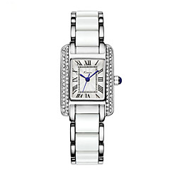 Women's Fashion Watch Quartz Alloy Band Elegant Blue Silver Brand