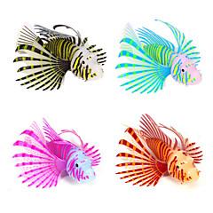 Διακόσμηση Ενυδρείου Τεχνητό ψάρι Νυχτερινή λάμψη Σιλικόνη