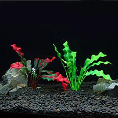 Dekoracja Aquarium Roślina wodna Sztuczne Plastik