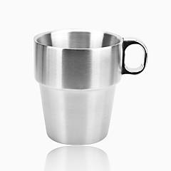 Ποτήρια, 300 Ανοξείδωτο ατσάλι Τσάι Χυμός Κούπες Καφέ