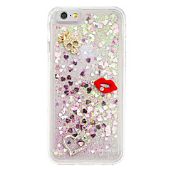 For DIY Rhinestone Case Back Cover Case Glitter Shine Soft TPU for iPhone 7 7 Plus 6s 6Plus SE 5S 5 4S 4