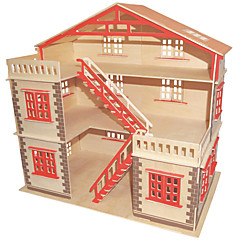 Jigsaw Puzzles DIY KIT Building Blocks 3D Puzzles Educational  Big Villa Wooden Puzzles Building Blocks DIY ToysSquare Famous
