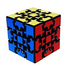 LanLan® Tasainen nopeus Cube 3*3*3 Nopeus Rubikin kuutio Musta Fade Smooth Tarra / Anti-pop säädettävä jousi ABS