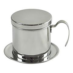 ml Paslanmaz Çelik Kahve Filtresi , 1 fincan Brew Coffee Maker Yeniden kullanılabilir