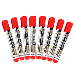 Red Ink Erasable Markers 1 Set of 10 PCS